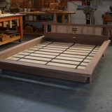 Port Blakely Bed in studio
