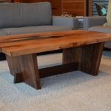 Madrone & Walnut Table