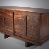 Dankel Tansu detail in walnut