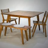 Studio Table, Chairs and Bench